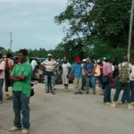 Bosai workers protest planned retrenchment