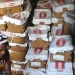 Customs seize 400 boxes of chicken being smuggled from Suriname