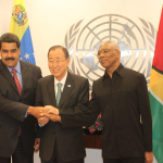 President Granger and President Maduro meet as UN tries to ease the tension