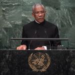 """President Granger presses UN to curb Venezuela's """"expansionist ambitions"""""""