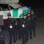 Body of slain Guyanese NYPD Officer arrives in Guyana for burial