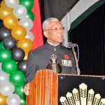 President implores GDF to remain steadfast in defending Guyana