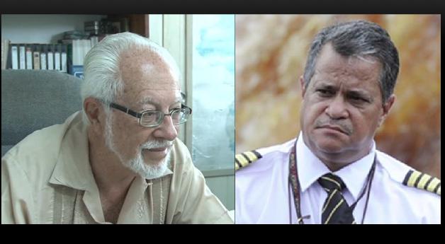 Kit Nascimento and Captain Gerry Gouveia