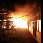 Vice Chancellor raises alarm of not working hydrants as fire ravages two UG buildings
