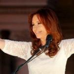 Argentina's Fernandez bids emotional farewell