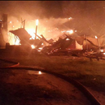 Fire destroys Liana Cane Furniture building in Plaisance