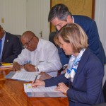 Guyana and World Bank sign US$3M grant agreement for improved drainage and strengthening of conservancy