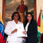 Venezuela accepts credentials of Guyanese Ambassador