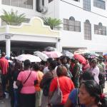 Hundreds flock Housing Department for Independence houselot discount offer