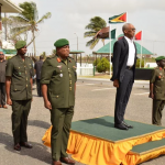 President sees bigger role for reservists in protecting and defending Guyana's borders