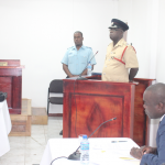 Fire Service Operations Officer testifies that Prisoners threw rocks at firemen to prevent extinguishing