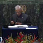 President Granger signs Paris Climate Agreement