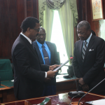 Attorney General hands over Walter Rodney CoI report to House Speaker