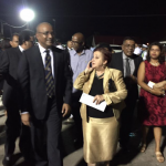 """Jagdeo and PPP MPs walk out of Flag Raising Ceremony over """"disrespectful"""" seating; Ramotar stays"""