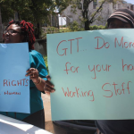 """Group of workers and Union protest GTT """"one man show"""" over changes; Company rejects intimidation"""