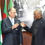 Guyana and Denmark to continue relationship of non interference and mutual respect