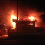 Two boys die as fire guts Hadfield Street Children's drop-in centre