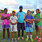 Guyana being represented at U-12 tennis tournament