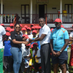 DCC Summer Cricket Camp receives boost from Digicel