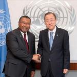 Ambassador Ten-Pow accredited as Guyana's Permanent Representative to the UN