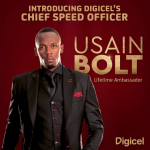 Usain Bolt is Digicel's Chief Speed Officer in lifelong endorsement deal