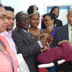 PAHO/WHO assists Guyana with maternal health equipment donations