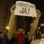Brazil: Police use tear gas at pro-Dilma protest