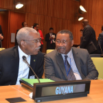 President Granger and other leaders discuss refugees and migrants ahead of UNGA