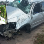 NAREI Crop Officer killed as vehicle topples on Linden/Soesdyke highway