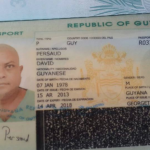 Dataram was using Guyana passport with false name that was issued in 2013
