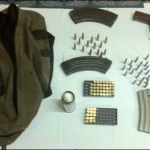 AK-47 and ammunition discovered behind wardrobe in Linden house