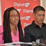 Digicel dedicates Breast Cancer road race to staff member