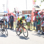 19-year-old leaves competition in dust at Digicel Breast Cancer Cycle race