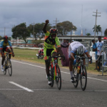 Shaquel Agard takes NSC three- stage cycling title