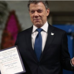Nobel Peace Prize: Santos calls for 'rethink' of war on drugs