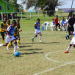 Girl's Football: St. Angela's, West Ruimveldt march into Smalta Girls' Pee-Wee Football final