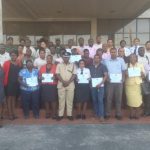 GDF, Police GGMC and Customs officials receive training to combat human trafficking