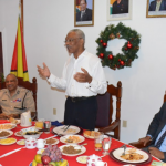 President encourages Police to engage public more in crime fighting efforts