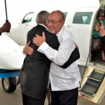 Guyana and Suriname Presidents discuss strengthening relations and bridging the Corentyne