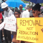 Parking Meter Protesters want revocation and not reduction