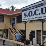 Jagdeo and other former Cabinet Members at SOCU for Pradoville 2 questioning
