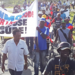 East Demerara Estate workers protest possible closure of estate