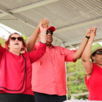 Government and Opposition share barbs at May Day rally over state of sugar industry and rights of workers