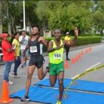 Guyanese athletes perform well at Suriname 10K Run.