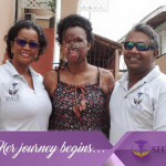 Acid attack victim leaves Guyana for medical help in the U.S