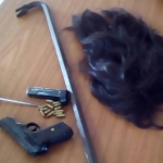 Police arrest five suspected bandits in Berbice with unlicensed firearm, wig, rope and crowbar