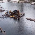 Twenty-six dredges found illegally operating in Kaieteur National Park; GDF plans continuous surveillance