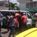 Suspect arrested for afternoon murder of mini-bus driver