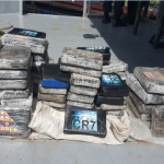 GDF Coast Guard busts vessel with 209 lbs cocaine in Pomeroon river