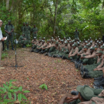 President reminds reservists of need to respect laws and be responsible